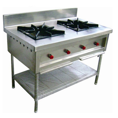 2 Burner Commercial Range